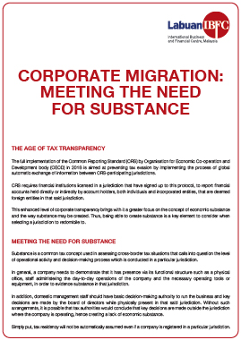 Corporate Migration: Meeting The Need For Substance