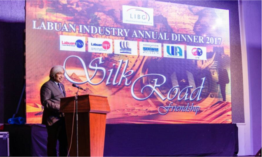Chairman of Labuan FSA, Tan Sri Muhammad bin Ibrahim, Delivered his Keynote Address at the Labuan Industry Annual Dinner 2017