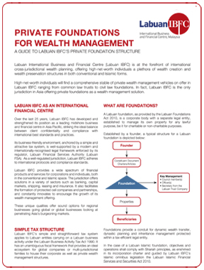 Private Foundations for Wealth Management